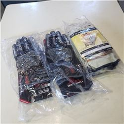 2 Pairs of BDG Driller gloves and 3 pairs of Condor work gloves