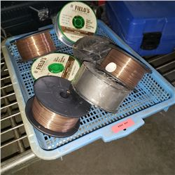 TRAY OF ARC WELDING WIRE