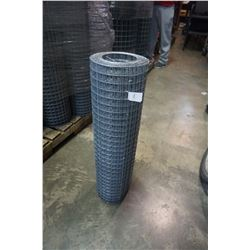 28 INCH TALL ROLL OF MESH FENCING