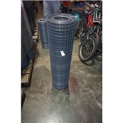 36 INCH TALL ROLL OF MESH FENCING