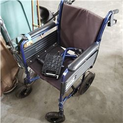 EVERMED FOLDING WHEEL CHAIR