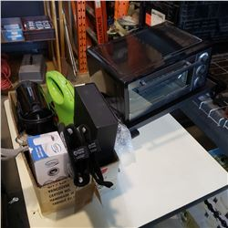 ELECTRIC GRILL, TOASTER OVEN, COFFEE MAKER AND SANDWICH GRILL