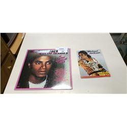 MICHAEL JACKSON RECORD AND BOOKLET