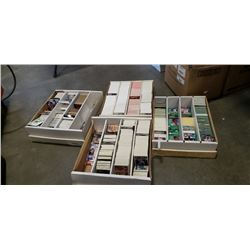 4 BOXES OF SPORTS CARDS