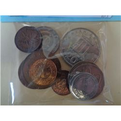 10 WORLD COINS