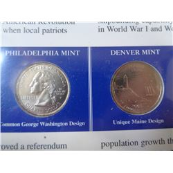 3 STATES COMMEMORATIVE COIN AND STAMP SETS