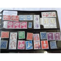 LOT OF GERMAN AND OCCUPATION STAMPS