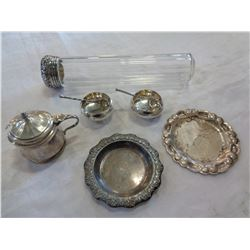 STERLING MINI TEASET, DECOR, AND JEWELLERY