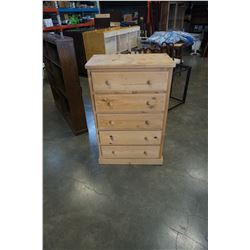 FARMHOUSE SOLID PINE CHEST OF DRAWERS