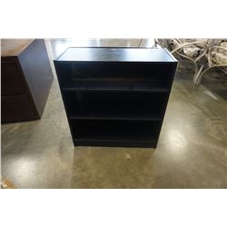 BLACK IKEA BOOKSHELF