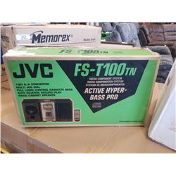 IN BOX JVC FS-T100 MICRO STEREO