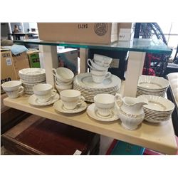 MEAKIN IRONSTONE DISHES, CUPS, AND SAUCERS
