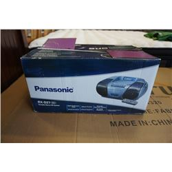 IN BOX PANASONIC RX-D27 PORTABLE CD STEREO