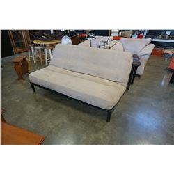 FUTON WITH METAL FRAME