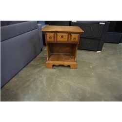 VILAS MAPLE 1 DRAWER END TABLE