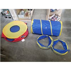 COLLAPSIBLE DOG TUNNEL