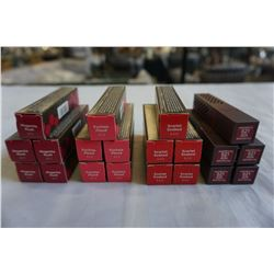 20 BRAND NEW BURTS BEES 100% NATURAL LIPSTICK, RETAIL $219.80 - 5 OF EACH COLOUR RUBY RIPPLE, MAGENT