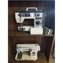 BROTHER AND BAYCREST SEWING MACHINES