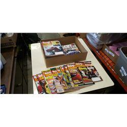 BOX OF HOT ROD MAGAZINES