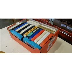 TRAY OF 8 TRACK CARTRIDGES