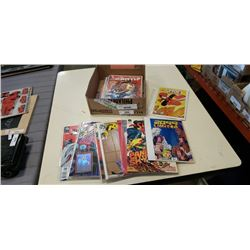 BOX OF 25 COLLECTIBLE COMICS