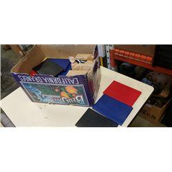 BOX OF NEW ADDRESS BOOKS