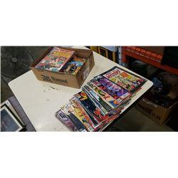 BOX OF 100 COMICS