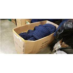 BOX OF BLUE NEW ZEALAND WOOL YARN