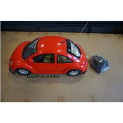 NEW BRIGHT 1:6 SCALE REMOTE CONTROL VW BEETLE