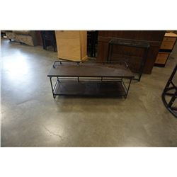 MODERN INDUSTRIAL CONSOLE TABLE