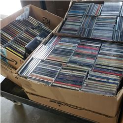 Large lot of CDs