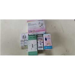 Lot of breast pump kit, basil aspirater and Beauty Supplies