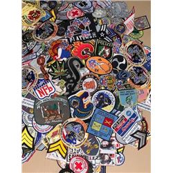 Huge lot of 550-700 various size and category patches value $5-25ea