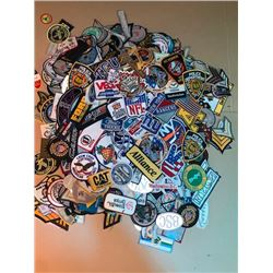 Massive lot of 950-1200 various size and category patches value $5-25 ea