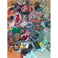 Huge Lot of 650-850 various category and size patches. Value $5-25ea