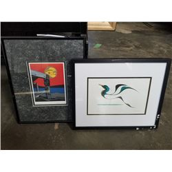 TAKING FLIGHT ISAAC BIGNELL AND OLD TOWN VICKERS FIRST NATIONS PRINT
