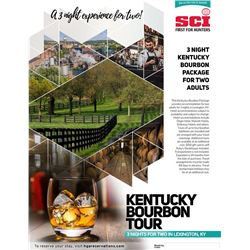 3-night Kentucky Bourbon Distillary Tour for Two Adults
