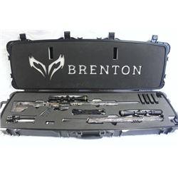 Brenton USA .450 Bushmaster Rifle W/.223 Upper Receiver, Leopold Scope and Custom Case