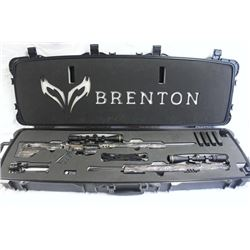 Brenton USA .450 Bushmaster Rifle W/.223 Upper Receiver, Leopold Scope and Custom Case