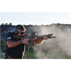 2-day Shooting Instruction with Retired Members of Delta Force for up to Four People