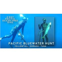 2-day Pacific Bluewater Spearfishing Trip for One Person