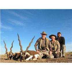 5-day Argentina Blackbuck and Wild Boar Hunt for Two Hunters