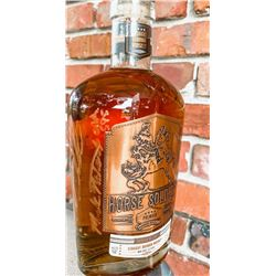 Signed Bottle of Horse Soldier Bourbon by Members of the Portrayed in the Movie 12 Strong