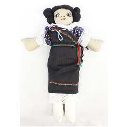 Native American Hopi Maiden Cloth Doll
