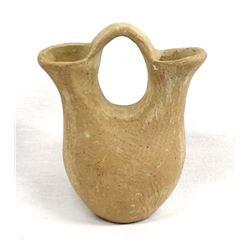 Native American Jemez Pottery Wedding Vase