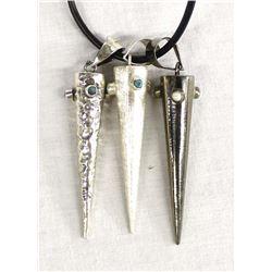 Balaam Sterling Pendant Necklace by Monica Zamora