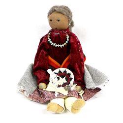Navajo Grandmother Doll by Sylvia C. Begaye