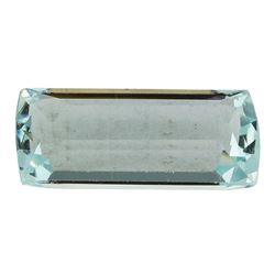 5.76 ct.Natural Cushion Cut Aquamarine