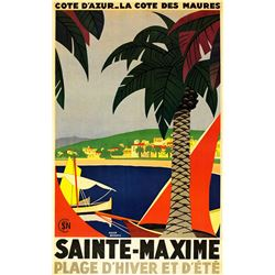 Roger Broders - Sainte-Maxime