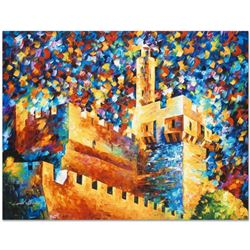 David's Citadel by Afremov (1955-2019)